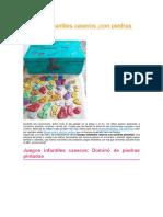5 Juegos Infantiles Caseros-con Piedras Pintadas