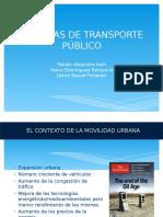 SISTEMA de Transporte Publico
