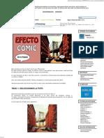 Tutorial Efecto Comic Con Photoshop