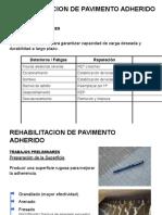 rehabilitacion de pavimentos adheridos en concreto