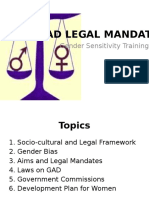 Gad Legal Mandate1