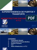 Superintendencia de Puertos y Transporte. Infraestructura Portuaria Maritima vs Tlc