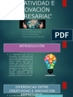 Creatividad e Innovación Empresarial-grupo Wissar