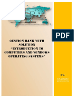 Introduction to Computers and Windows Operating Systems Set 1_Bitsofcomputer