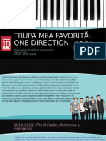 Trupa mea favorită - ONE DIRECTION