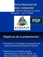 Presentacion Ley SNGA