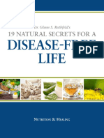 19 Natural Secrets for a Disease Free Life Dr. Glen Rothfeld