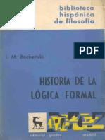 Bochenski - Historia de La Logica Forma (1)