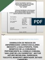 Bases de Anteproyecto  II LINO J. CHAVEZ F.