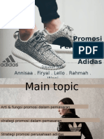 Presentation Promosi Adidas