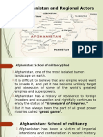 16th Lecture Afghanistan