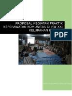 Proposal Kegiatan Praktik Komunitas