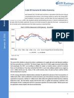 Crude Oil Scenario & Indian Economy