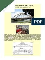 """Un Pont """"bow string"""" sur le réseau H0. Par Philippe Vepierre"""