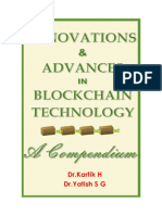 Innovations & Advances in Blockchain Technology