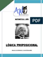 Dossier Matemática Reglas de Inferencia y Cuantificadores