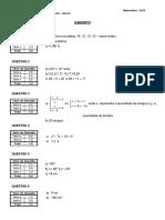 Matemática - Gab