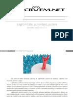 legitimitate_autoritate_putere