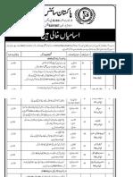 Pakistan Science Foundation Islamabad Jobs