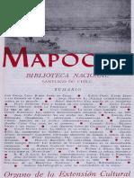evista Mapocho, Tomo V, No. 4, Vol. 15, Santiago de Chile