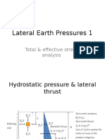 Week 7 Lateral Earth Pressures 1