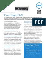 Dell PowerEdge FC630 Spec Sheet ES-XL HR