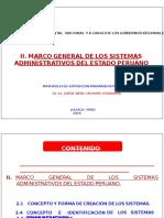 2.- m.g. Sistemas Administrativos Legislacion