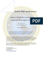 Economic Warfare Risks and Responses by Kevin D Freeman