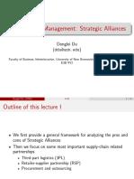 Startegic Alliances