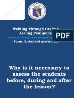 Walkthrough Clarification - ARALING PANLIPUNAN