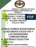 Derecho Societario III Unidad