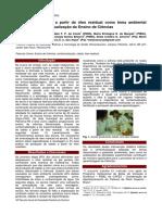 Produção de Sabão a Partir de Óleo Residual Como Tema Ambiental Motivador Na Contextualização Do Ensino de Ciências