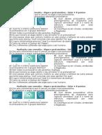 Prova Com Consulto Sobre Os Protozoários e as Algas