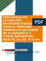 Protocolo de Proceso Inmediato - MINJUS
