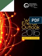 World Energy Out Look 2016 Executive Summary English