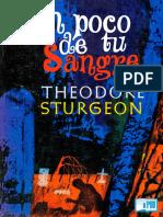 Theodore Sturgeon - Un Poco de Tu Sangre