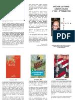 Lecturas de Francisco Castro para 1º ESO