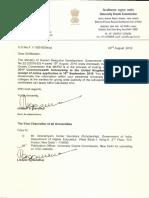 UGC Letter Commonwealth Scholarship to UK
