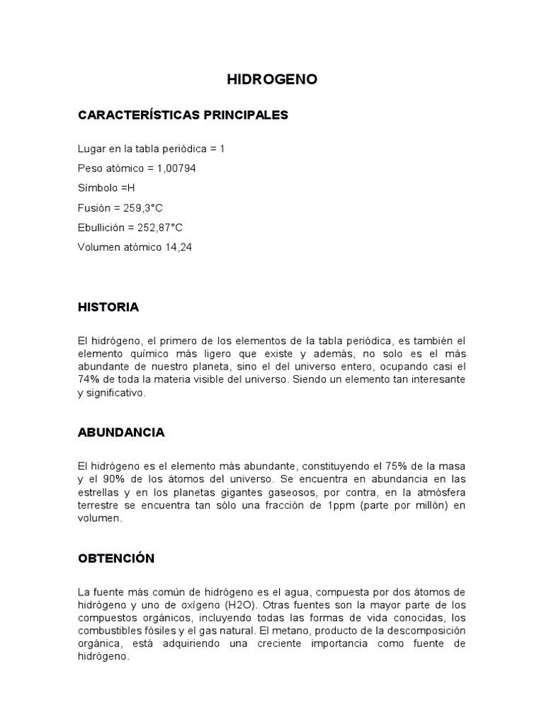 elementos quimicos - Tabla Periodica De Los Elementos H2o