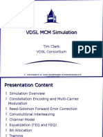 VDSL MCM Simulation