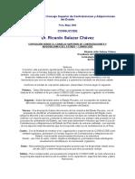Exposición Sobre El Consejo Superior de Contrataciones y Adquisiciones Del Estado