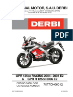 Despiece Derbi
