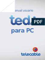 Manual de Usuario Tedi Funcionalidad Multidispositivo