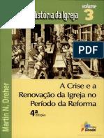 LIVRO - Coleção História da Igreja (Vol. 3) - Martin N. Dreher.pdf