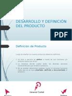 Desarrollo y Definición de Producto
