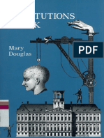 Mary Douglas How Institutions Think Syracuse University Press 1986