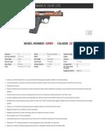 Ruger Bronze Anodized Mark IV 22/45 Lite Pistol Specs