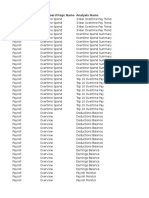 HCM Payroll Dashboard - Domain Mapping 11-1-1 9 2