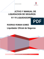 Instructivo y Manual de Liquidacion de Seguros