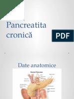 Pancreatita cronică